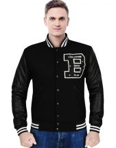 Billionaire Boys Club Black Varsity Jacket